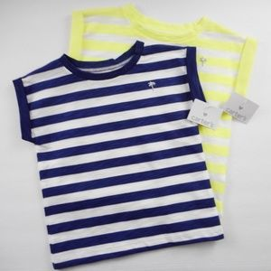 New 2 Carters Baby Girl Tops Size 24 Months